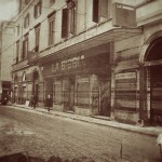 Il Teatro nel 1966 dopo la devastante alluvione
