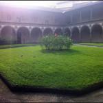 Cortile della Basilica di Santa Croce
